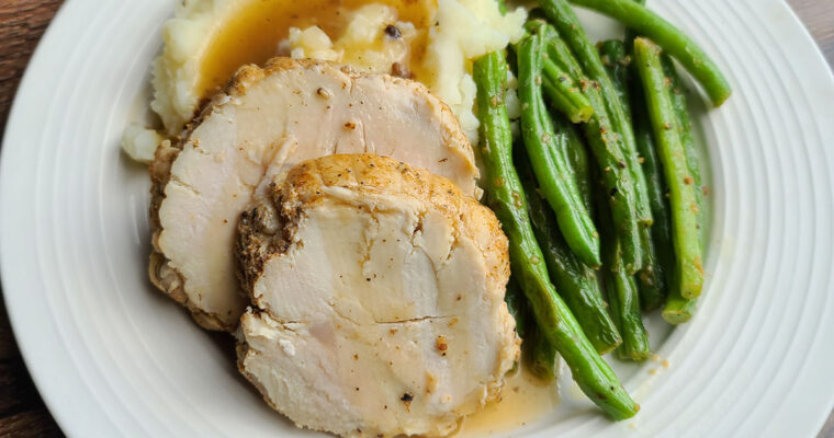 Cajun Seasoned Turkey Breast Instant Pot Style!